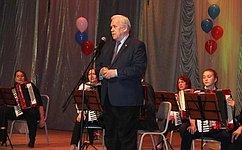 С.Попов принял участие впраздновании Дня местного самоуправления вг. Исилькуль Омской области