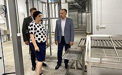 О. Алексеев: Наличие местного производителя позволит снизить цену иобеспечить жителей региона качественной продукцией