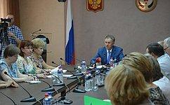 А. Волков провел вИжевске «круглый стол» повопросам развития образования