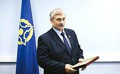 М.Козлов принял участие взаседании Постоянной комиссии ПА ОДКБ повопросам обороны ибезопасности
