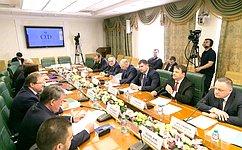 Ю. Воробьев провел заседание Комитета общественной поддержки жителей Юго-Востока Украины