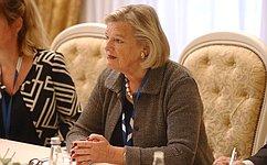 Состоялась встреча В.Матвиенко сПредседателем первой палаты Генеральных Штатов Нидерландов А.Брукерс-Кнол