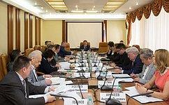 ВСовете Федерации обсудили организационные аспекты реализации государственной национальной политики нафедеральном уровне