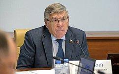 В. Рязанский: Социально ориентированные НКО должны иметь преимущественное право навыкуп государственного имущества
