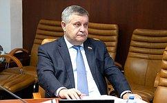 А. Ракитин обсудил спредставителями общественных организаций региона вопросы реализации Послания Президента РФ