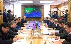 Делегация Совета Федерации ознакомилась синвестиционными проектами Сахалинской области
