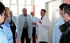 В. Марков посетил срабочей поездкой Сысольский район Республики Коми