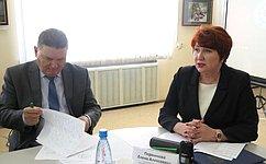 Е.Перминова провела вКургане «круглый стол» повопросам профилактики насилия над несовершеннолетними