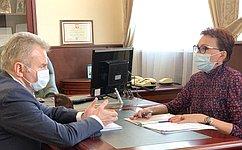 Т. Кусайко: ВМурманской области уделяется особое внимание реализации нацпроекта «Здравоохранение»