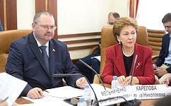 О.Мельниченко провел расширенное заседание Комитета СФ поисполнению постановлений палаты огосподдержке регионов