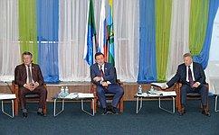 Сенаторы обсудили вХабаровском крае реализацию госпрограммы развития Дальнего Востока иБайкальского региона