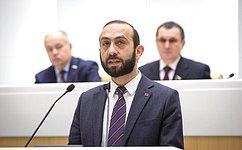 УАрмении иРоссии есть значительный потенциал для дальнейшего развития плодотворного сотрудничества– А.Мирзоян