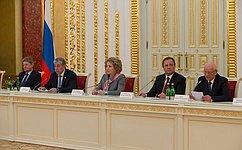 Законодатели Оренбургской области внесли большой вклад вразвитие региона— В.Матвиенко