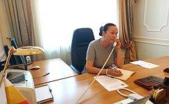 И. Петина: Прием граждан— замечательная возможность выслушать ипомочь жителям региона