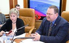 О.Мельниченко провел заседание Комитета СФ пофедеративному устройству, региональной политике, местному самоуправлению иделам Севера