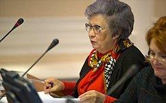 С.Горячева выступила на31-й сессии Конгресса местных ирегиональных властей Совета Европы