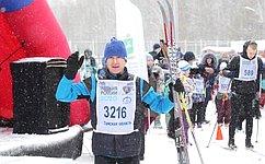 Владимир Кравченко принял участие воткрытой массовой лыжной гонке «Лыжня России» вг. Томске
