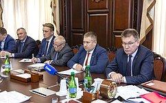 Д. Гусев принял участие врабочей встрече спредставителями Росрыболовства