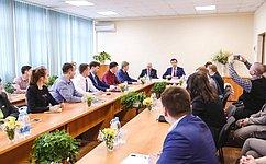 Усовременной молодёжи есть большой потенциал— Д.Азаров