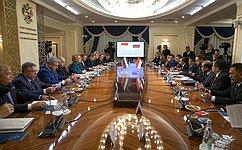 Председатель СФ В.Матвиенко встретилась сПредседателем Совета представителей регионов Парламента Индонезии У.Саптой