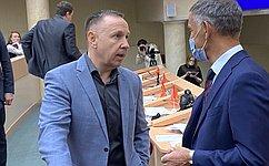 О.Алексеев: Работа регионального парламента Саратовской области направлена наподдержку жителей