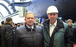 В. Павленко: Корабелы Северодвинска строят атомные ракетоносцы нового поколения