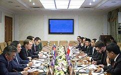 А.Кутепов провел встречу сделегацией парламентариев Индонезии