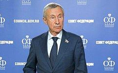 А. Климов: Временная комиссия СФ обсудит нарушения российского законодательства состороны глобальных интернет-компаний