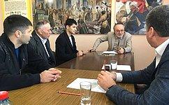 А. Тотоонов провел прием граждан встанице Архонская Пригородного района Северной Осетии— Алании