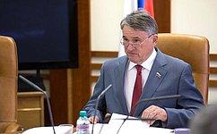Комиссия СФ поконтролю задостоверностью сведений одоходах сенаторов утвердила отчет оработе заминувший год