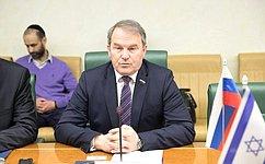 И. Морозов: Политические, экономические игуманитарные связи России иИзраиля будут развиваться