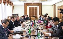 К.Косачев: Парламентское взаимодействия России иБангладеш находится навысоком уровне