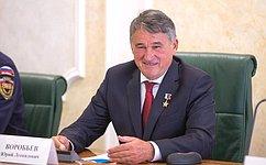 Ю. Воробьев назвал важным, что вПослании Президента РФ затрагивались вопросы волонтерства