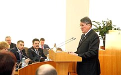 Ю.Воробьёв: Залог успешного развития Вологодской области— активная жизненная позиция молодых вологжан