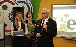 Н. Тихомиров принял участие вторжественных мероприятиях, посвященных 100-летию Череповецкой городской газеты «Речь»