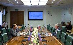А.Климов встретился счленом Парламента Камбоджи Ч.Вандетом