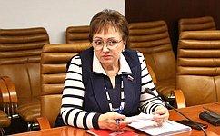 Е. Бибикова: Расширяется участие граждан старшего возраста вобщественно-полезной деятельности, оказании социальной помощи