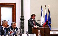 С. Цеков: Важно поддерживать развитие религиозного туризма иправославного паломничества вРеспублике Крым