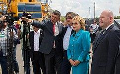 В. Матвиенко посетила угольный разрез «Кедровский» вКемеровской области