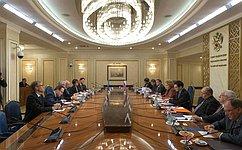 Состоялась встреча Председателя СФ сГенеральным секретарем Совета Европы