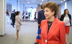 Г.Карелова: НаПетербургском международном экономическом форуме женской повестке уделяется все больше внимания