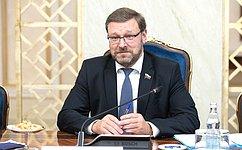 К.Косачев: Нормальные отношения сРоссией соответствуют интересам любой европейской страны