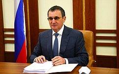 Н. Федоров принял участие взаседании Комиссии Правительства Российской Федерации позаконопроектной деятельности