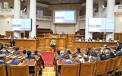 В.Матвиенко: Вмеждународных отношениях XXI века идет объективный процесс повышения роли парламентской дипломатии