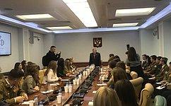 В.Рязанский встретился состудентами Юго-Западного государственного университета