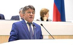 В. Озеров отчитался обитогах работы Комитета СФ пообороне ибезопасности за2016год