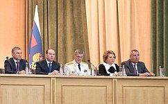 Председатель Совета Федерации выступила наторжественном заседании, посвященном празднованию Дня работника прокуратуры РФ