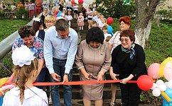 Наша общая цель заключается втом, чтобы вдошкольных учреждениях были возможности для занятия спортом— Л.Талабаева