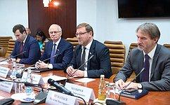 ВСовете Федерации готовы содействовать решению существующих вПриднестровье вопросов гуманитарного характера— К.Косачев