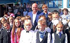 А. Дмитриенко поздравил учащихся Пензенской области сначалом учебного года